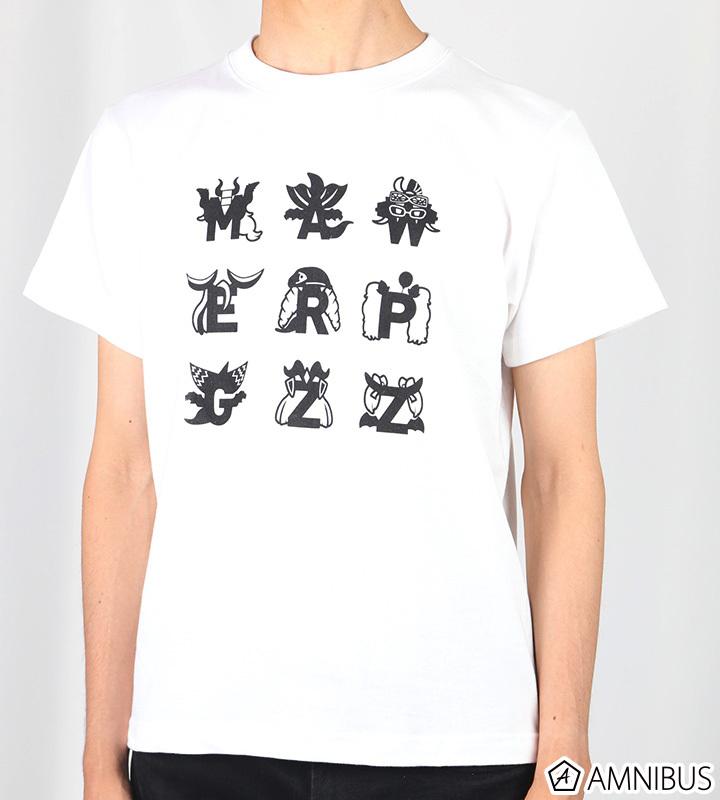 イニシャルデザインTシャツ