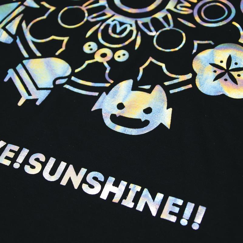 ホログラムTシャツ(Aqours)