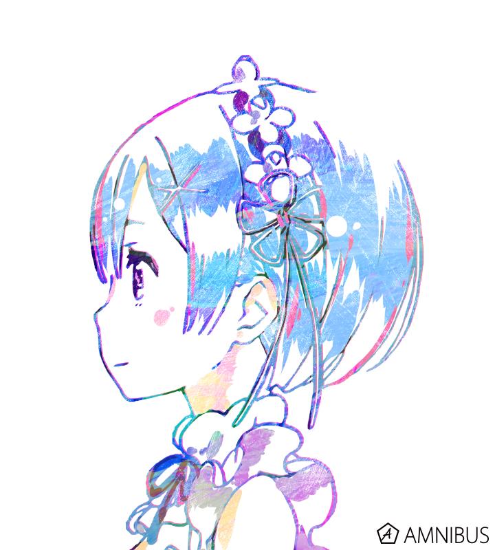 Ani-Art フルグラフィックTシャツ(レム)