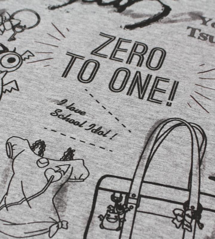 ラインアートTシャツ(津島善子)