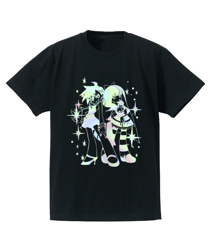 Panty & Stocking ホログラムプリントTシャツ