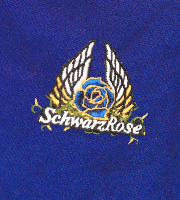 エンブレムカーディガン-Schwarz Rose-