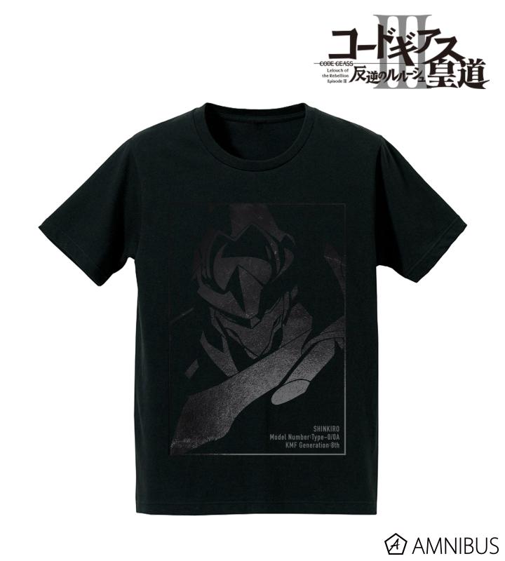 箔プリントTシャツ(蜃気楼)