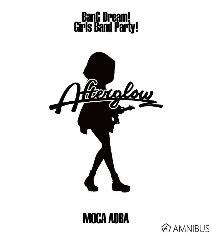 Ani-Art フルグラフィックTシャツ 青葉モカ (Afterglow)