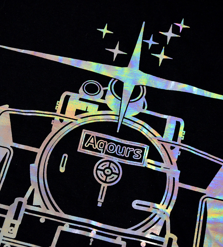 ホログラムTシャツ【HAPPY PARTY TRAIN】