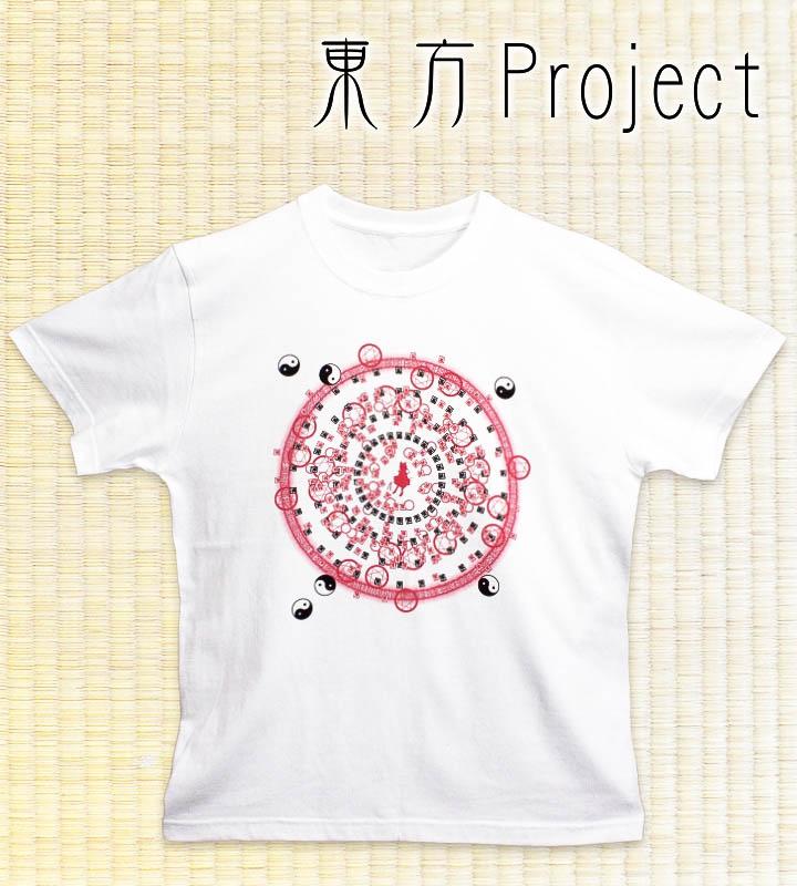 Spell Card Tシャツ 霊夢(ホワイト)