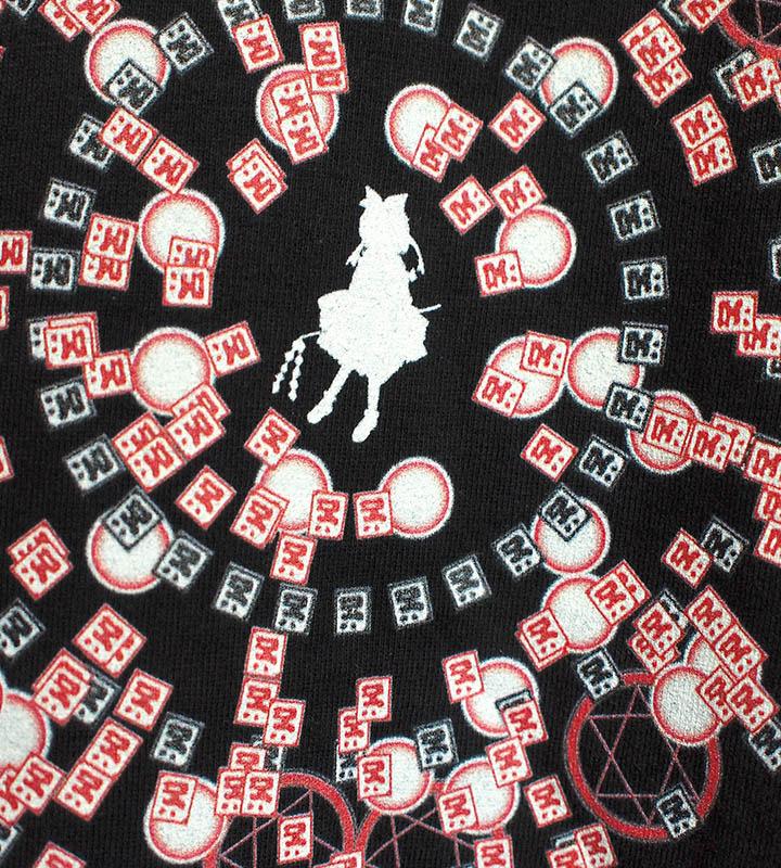 Spell Card Tシャツ 霊夢(ブラック)