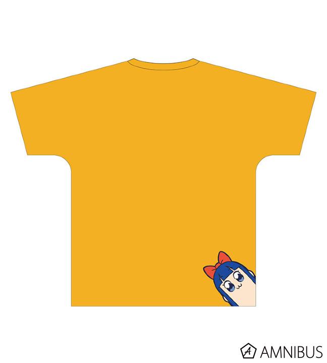 フルグラフィックフェイスTシャツ(ポプ子)