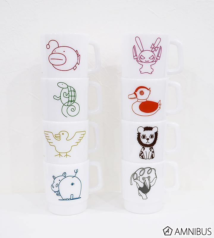 大洗女子学園スタッキングマグカップ(アリクイさんチーム)