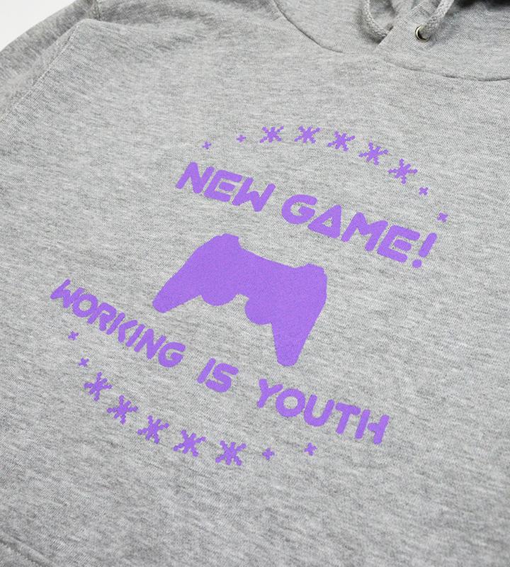 NEW GAME!カレッジデザインパーカー