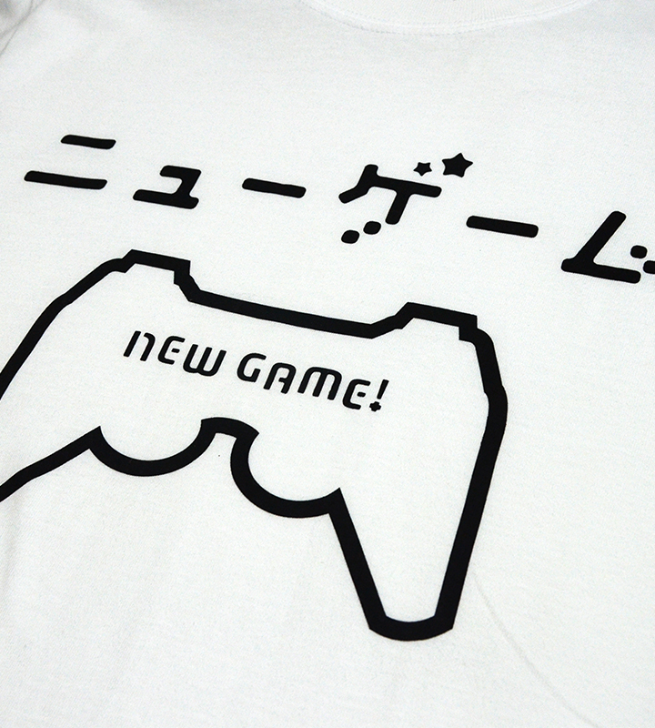 NEW GAME! ニューゲームTシャツ