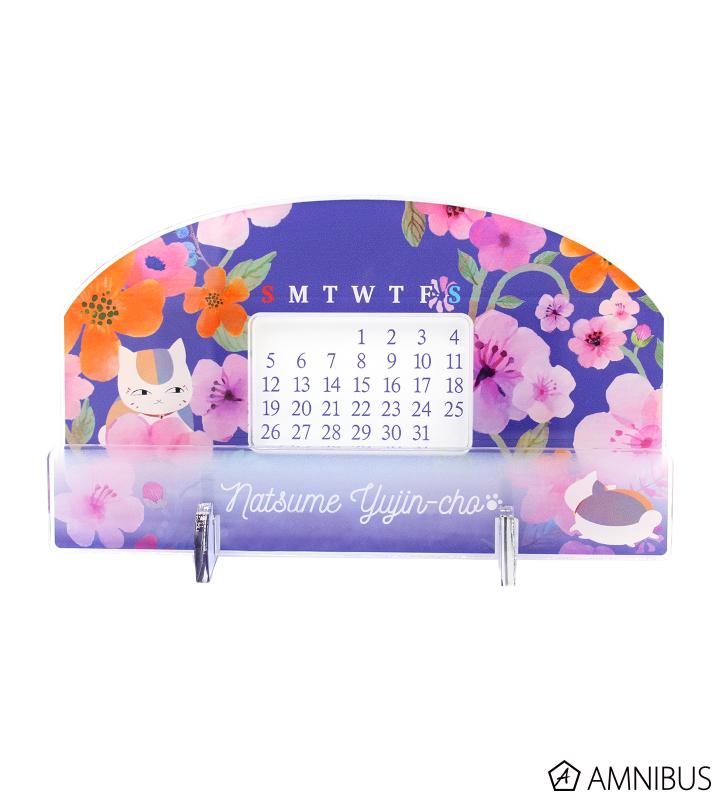 卓上アクリル万年カレンダー(ニャンコ先生)