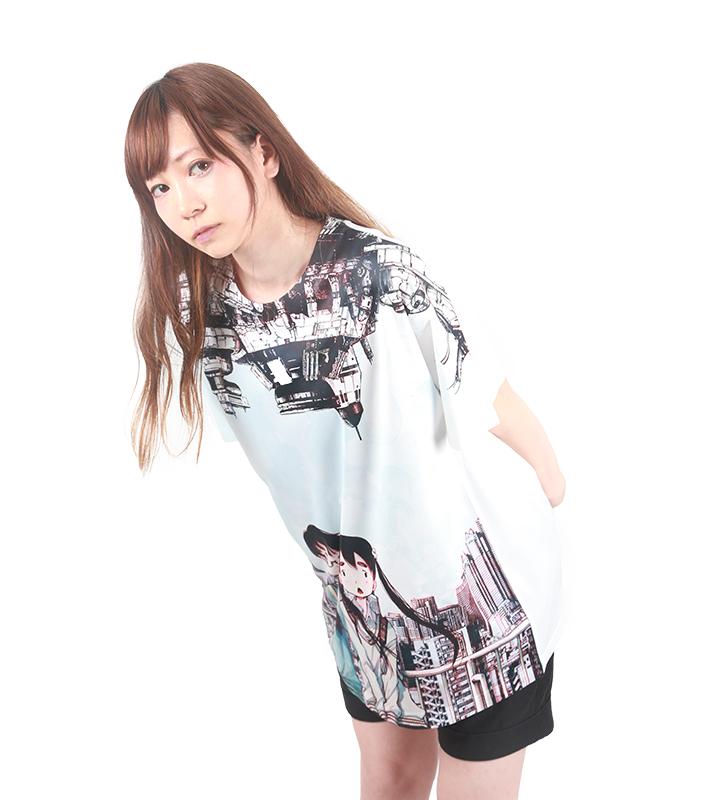 フルグラフィックビッグシルエットTシャツ【デッドデッドデーモンズデデデデデストラクション】