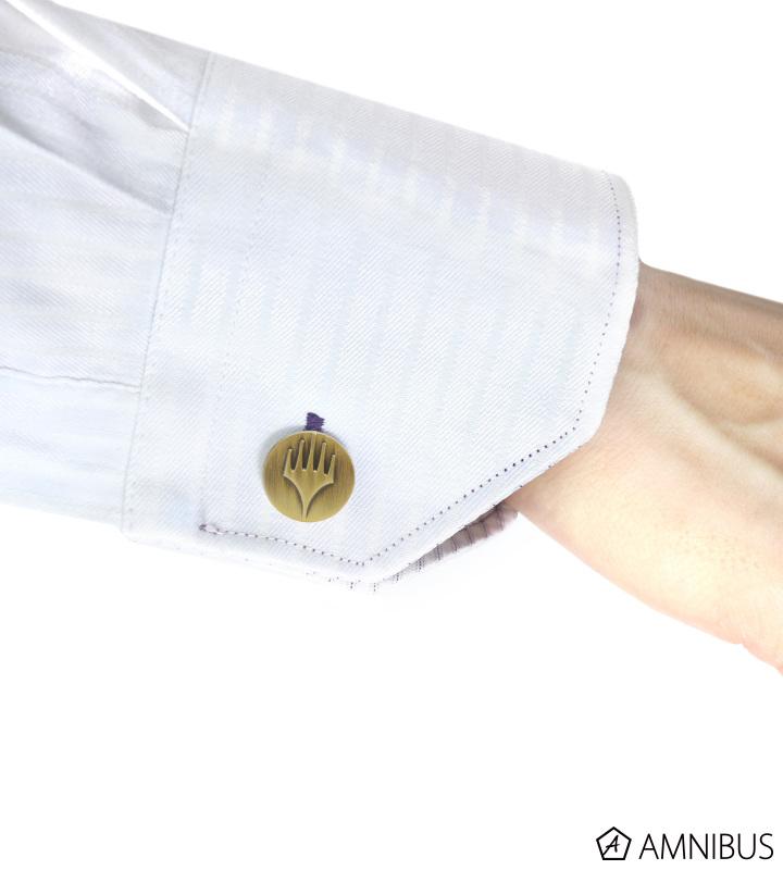 ネクタイピン&カフスボタン(プレインズウォーカー・シンボル)
