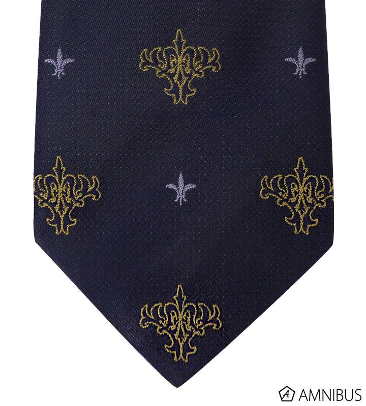 ジャガード織りネクタイ(ルーラー)