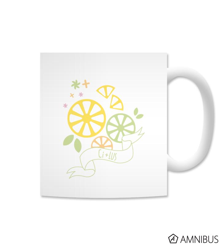 Ci+LUS マグカップ