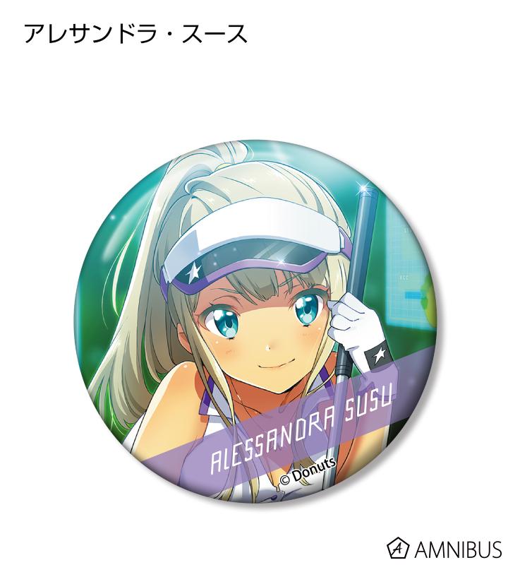 トレーディング カードイラスト 缶バッジ Ver.A