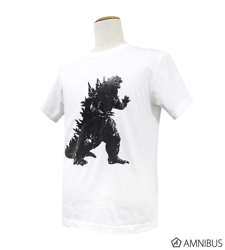 ゴジラ箔プリントTシャツ