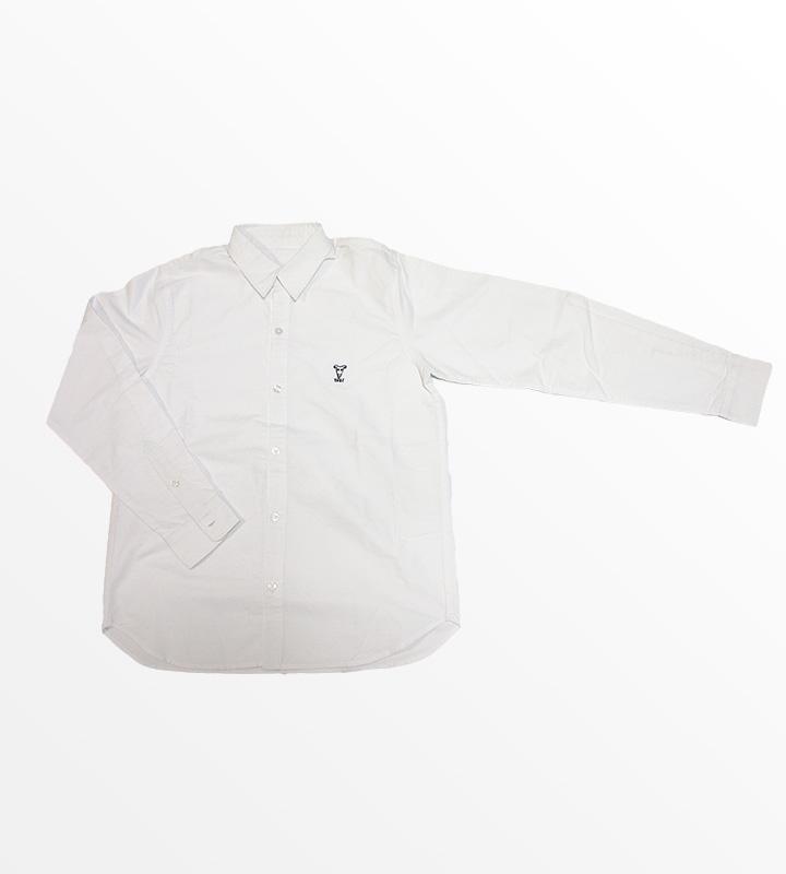 YAGIオックスフォードシャツ(ホワイト)