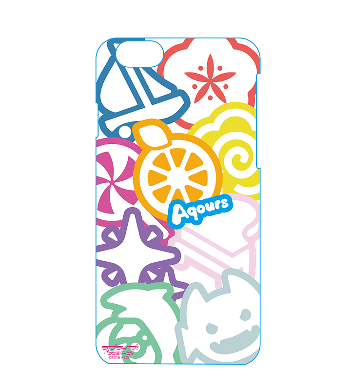 iPhoneケース - Aqoursメンバーモチーフ(iPhone7用)