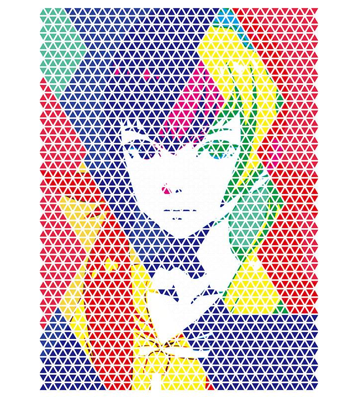 万流礼央子Ani-Art Tシャツ
