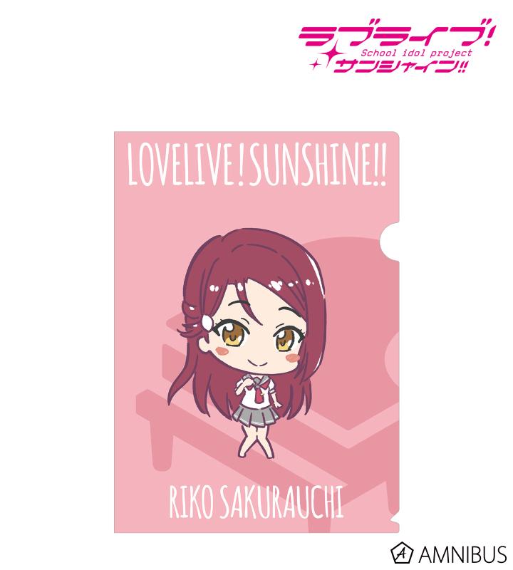 桜内梨子 ミニキャラ クリアファイル