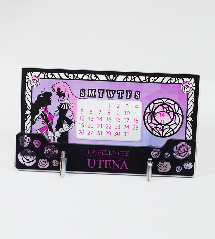 アクリル万年カレンダー(少女革命ウテナ)