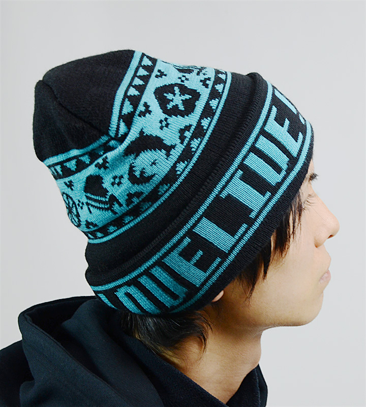 Aqoursノルディックデザインニット帽