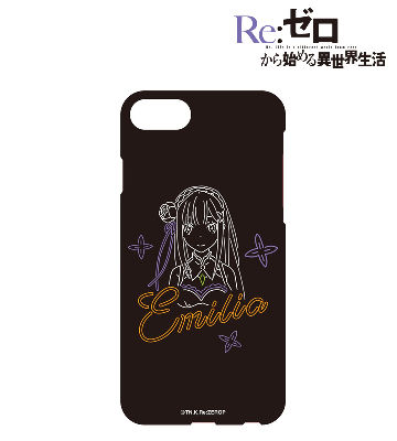 Ani-Neon iPhoneケース(エミリア)