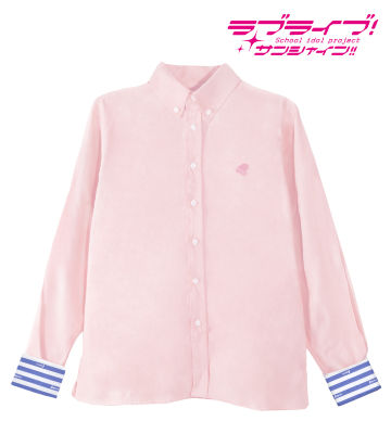 ワンポイント刺繍シャツ(桜内梨子)