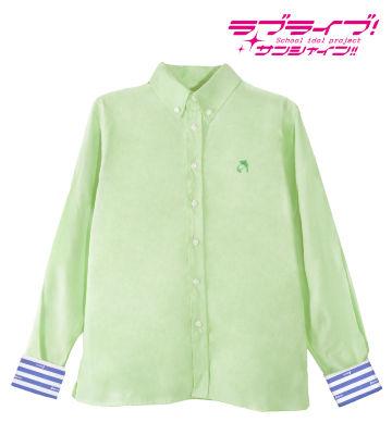 ワンポイント刺繍シャツ(松浦果南)