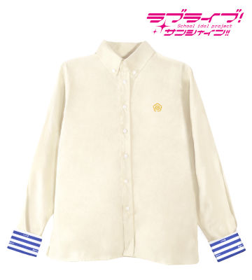 ワンポイント刺繍シャツ(国木田花丸)