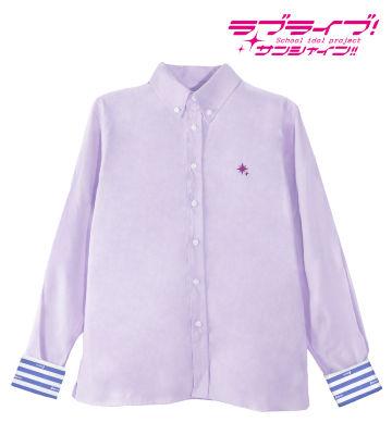 ワンポイント刺繍シャツ(小原鞠莉)