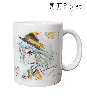 Ani-Artマグカップ(古明地こいし)