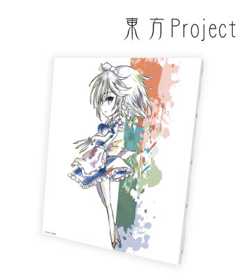 Ani-Art キャンバスボード(十六夜咲夜)