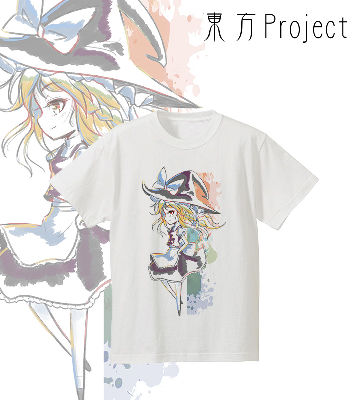 Ani-Art  Tシャツ(霧雨魔理沙)