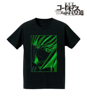 箔プリントTシャツ(C.C.)
