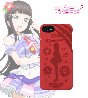 レザーケース for iPhone 7 / 6s / 6 黒澤ダイヤ ver
