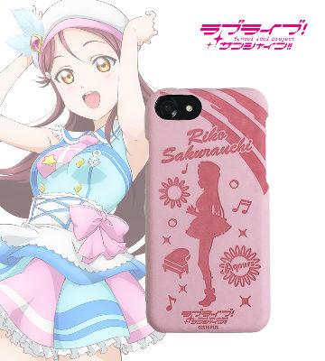レザーケース for iPhone 7 / 6s / 6 桜内梨子 ver