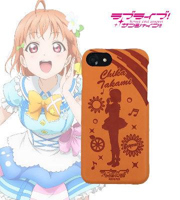レザーケース for iPhone 7 / 6s / 6 高海千歌 ver
