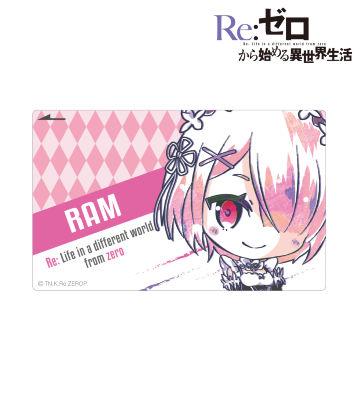 デフォルメAni-Art ICカードステッカー(ラム)