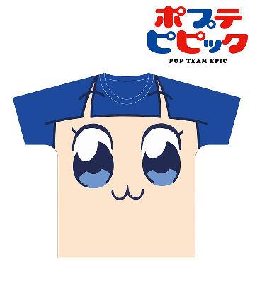 フルグラフィックフェイスTシャツ(ピピ美)