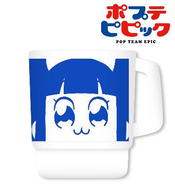 フェイスタッキングマグカップ(ピピ美)