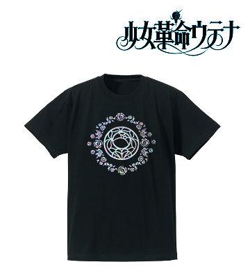 薔薇の紋章ホログラムTシャツ
