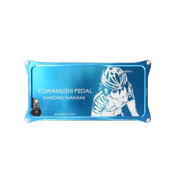 弱虫ペダル ソリッドバンパー&背面アルミパネル 真波 山岳 for iPhone 8 Plus / 7 Plus