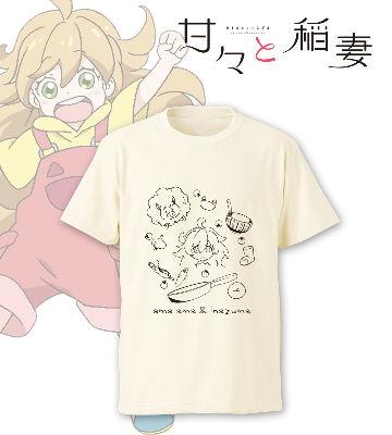 つむぎのラインアートTシャツ