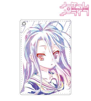 白 Ani-Art パスケース