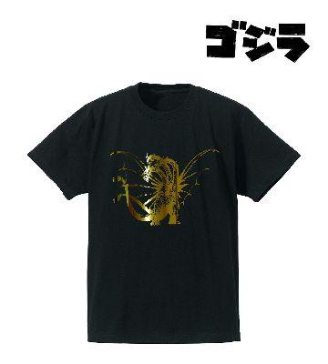 キングギドラ箔プリントTシャツ