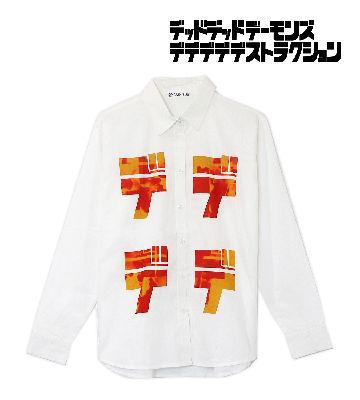 デデデデロゴ グラフィックシャツ