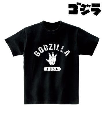 ゴジラ カレッジロゴTシャツ